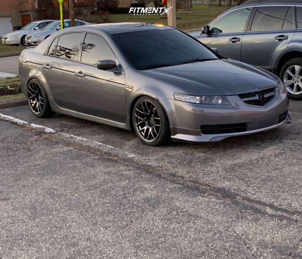 Nearly Flush 2006 Acura TL with 18x8.75 XXR 530 & Hankook Ventus V12 Evo 2 235/25 on Coilovers - Fitment Industries Gallery