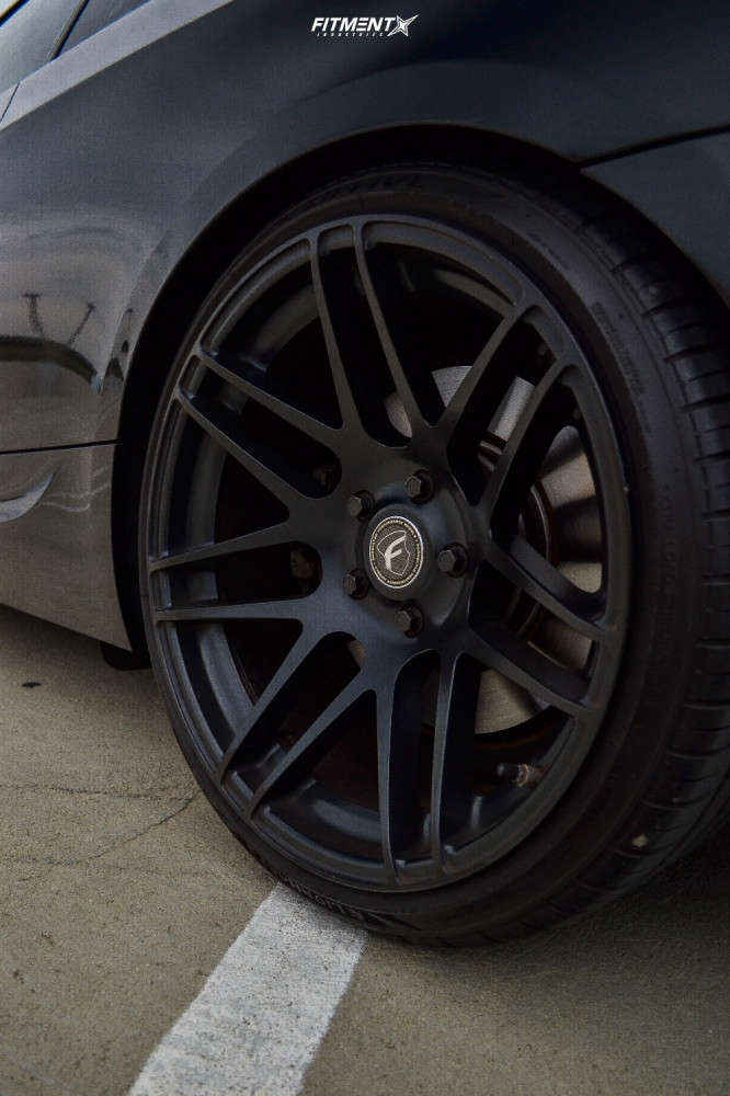 Nearly Flush 2012 BMW 335is with 19x9.5 Forgestar F14 and Hankook Ventus As Rh07 235/35 on Coilovers - Fitment Industries Gallery