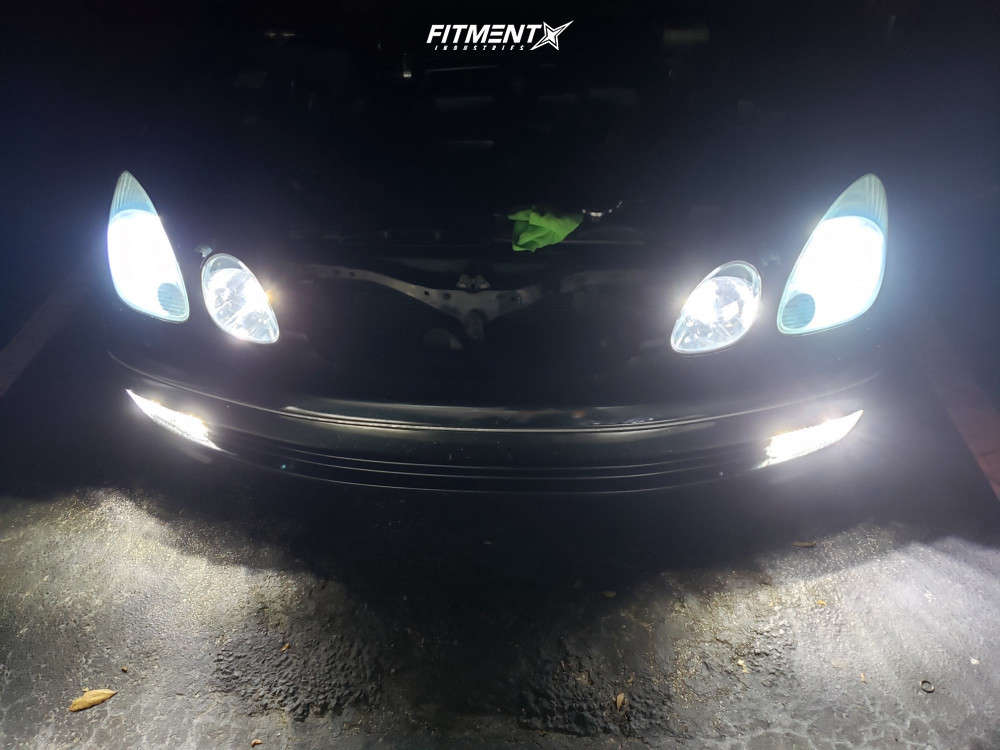 Flush 2001 Lexus GS300 with 19x8.5 MRR Hr3 & Federal 595 Rpm 225/30 on Coilovers - Fitment Industries Gallery