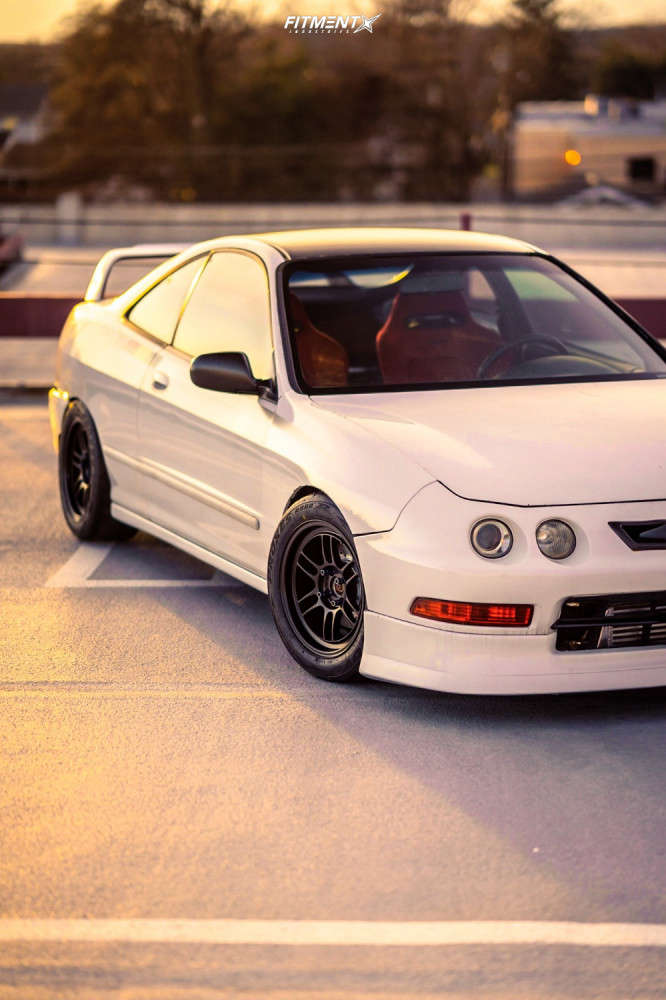 Tucked 1994 Acura Integra with 15x8 Enkei RPF1 & Toyo Tires Proxes R888r 225/45 on Coilovers - Fitment Industries Gallery
