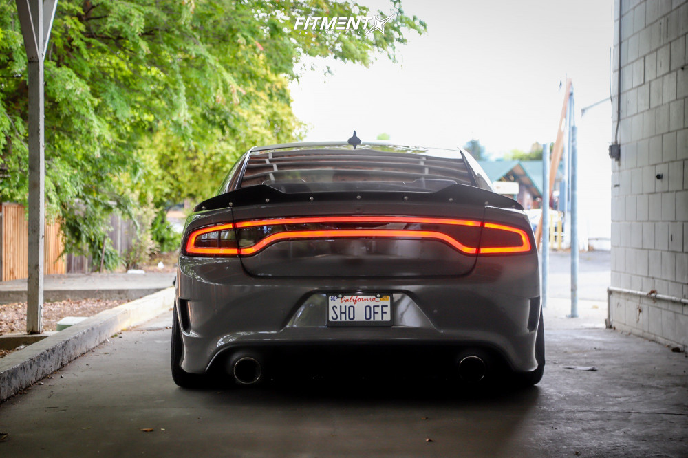 3 2018 Charger Dodge R T 392 Air Lift Performance Air Suspension Rohana Rfx11 Bronze