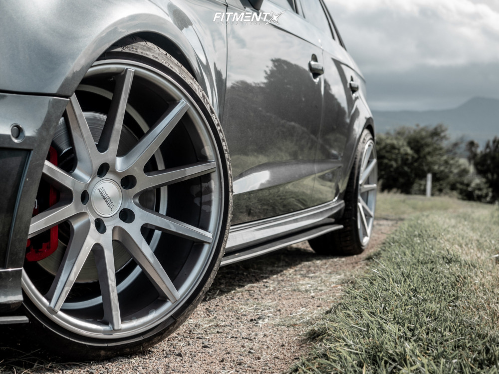 Poke 2015 Audi S3 with 19x9.5 Vossen Vfs1 and Michelin Pilot Sport 4 S 235/35 on Lowering Springs - Fitment Industries Gallery