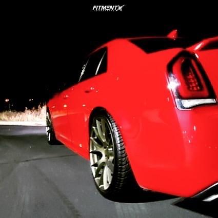 3 2015 300 Chrysler S Eibach Lowering Springs Wheel Replicas V1180 Bronze