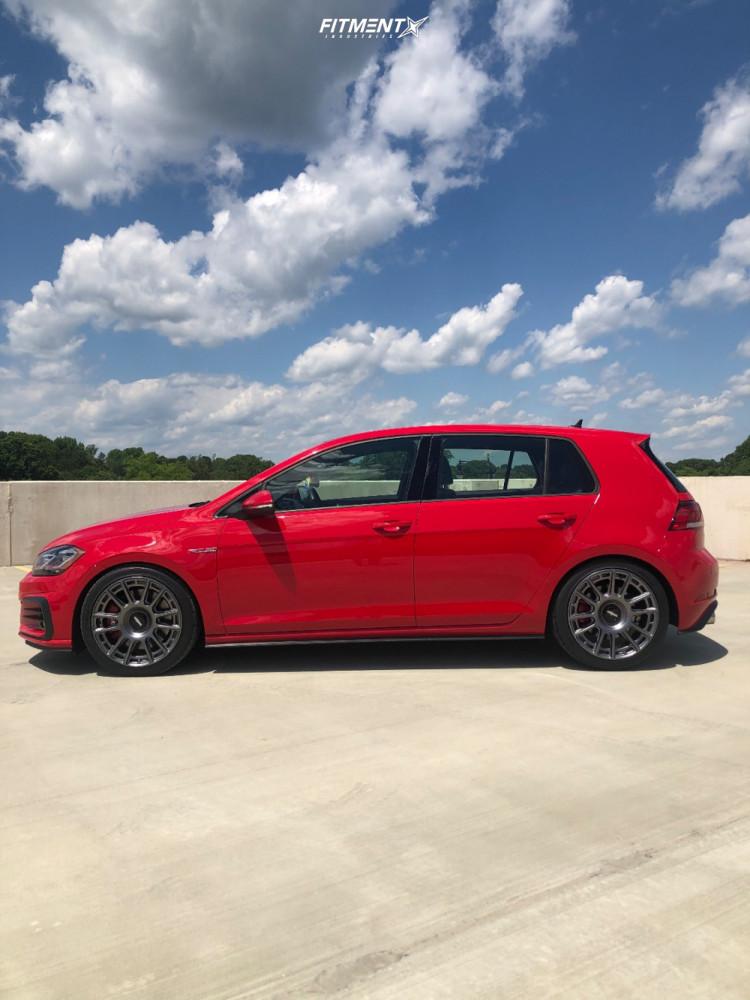 14 2019 Gti Volkswagen Se Eibach Lowering Springs Rotiform Ozr Anthracite