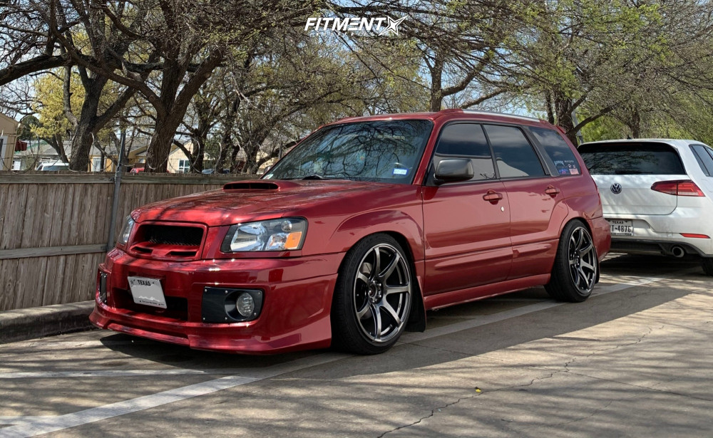 Forester XT Raceland Coilovers