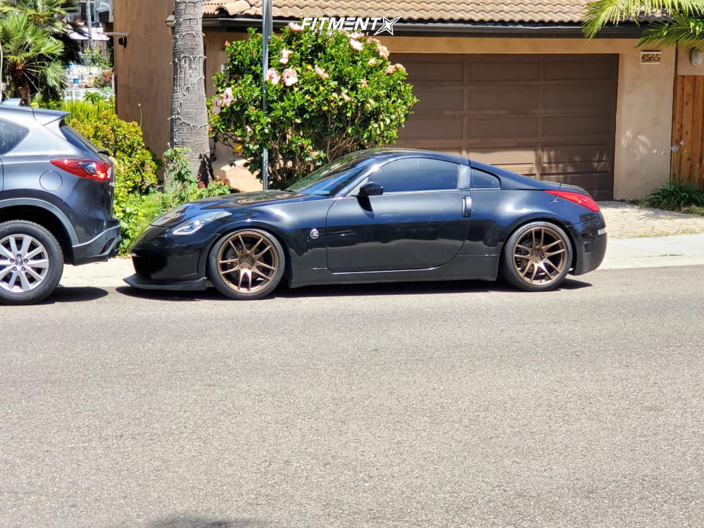 5 2008 350z Nissan Base Silvers Coilovers Vordoven Forme 9 Bronze