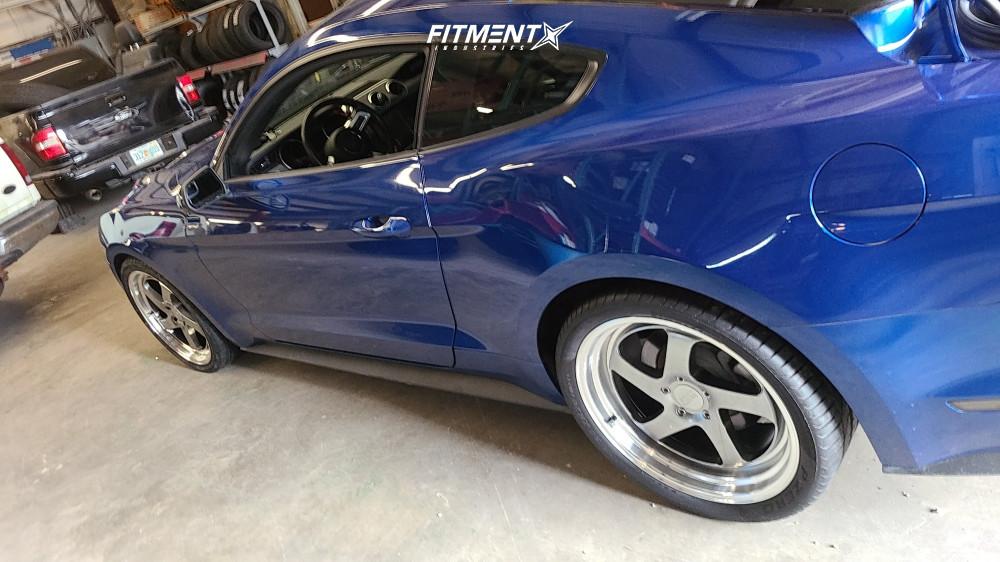 12 2018 Mustang Ford Ecoboost Steeda Lowering Springs F1r F28 Hyperblack