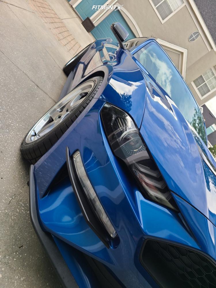 5 2018 Mustang Ford Ecoboost Steeda Lowering Springs F1r F28 Hyperblack