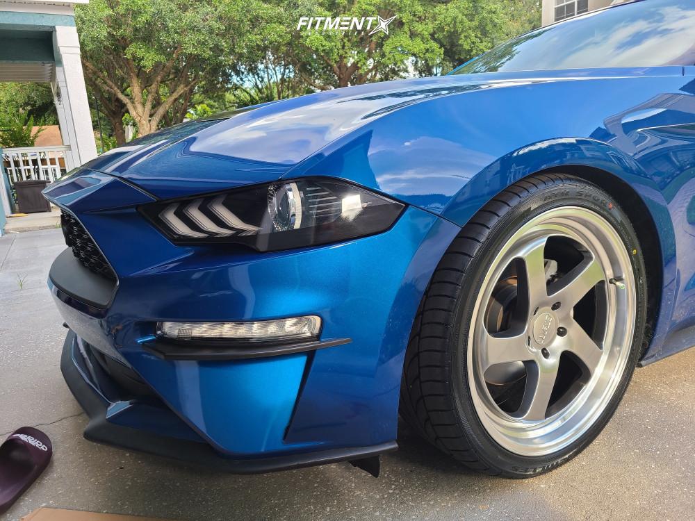 8 2018 Mustang Ford Ecoboost Steeda Lowering Springs F1r F28 Hyperblack