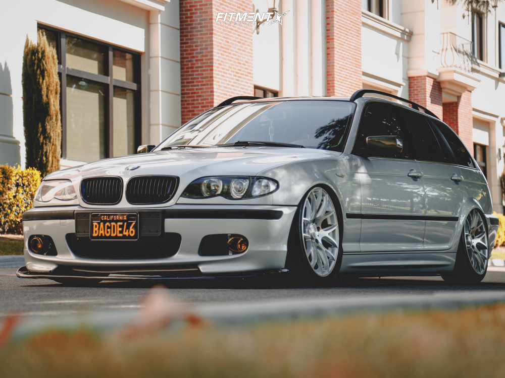 Bagged BMW 3 Series Wagon