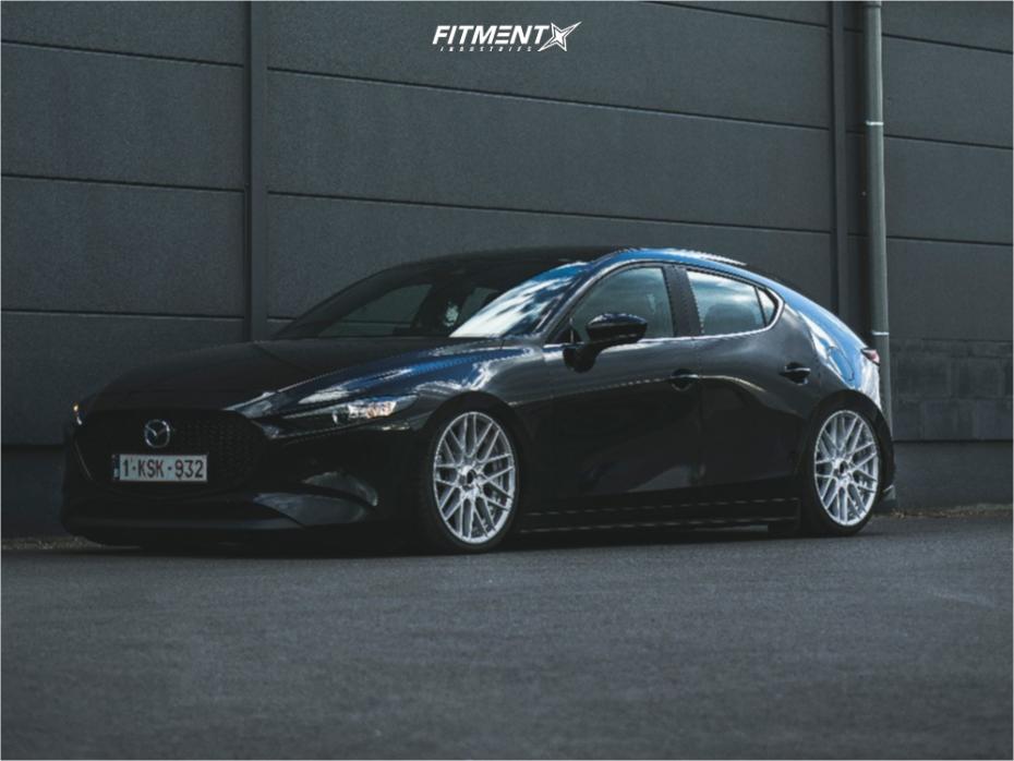 1 2019 3 Mazda Preferred Accuair Air Suspension Rotiform Rse Silver