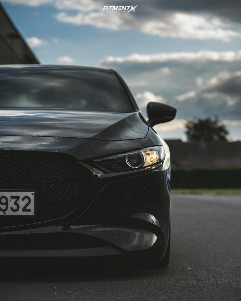2 2019 3 Mazda Preferred Accuair Air Suspension Rotiform Rse Silver