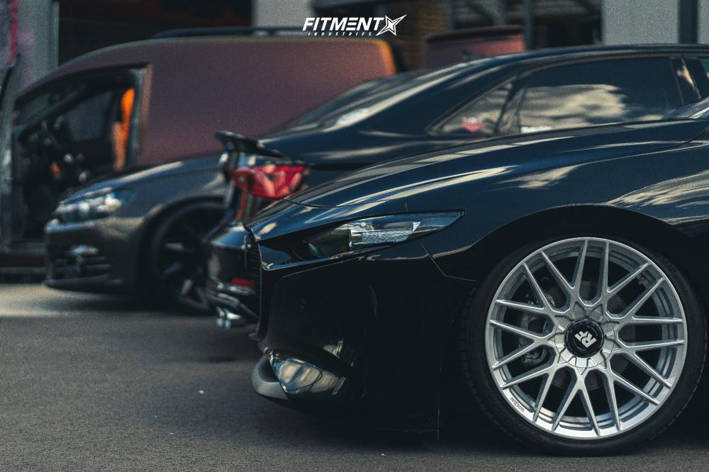 8 2019 3 Mazda Preferred Accuair Air Suspension Rotiform Rse Silver