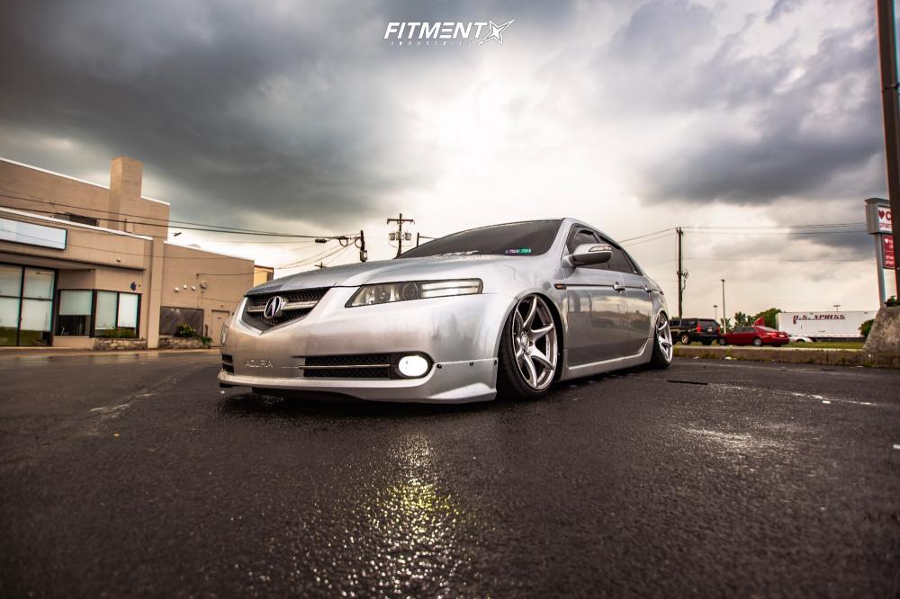 Slammed Acura TL