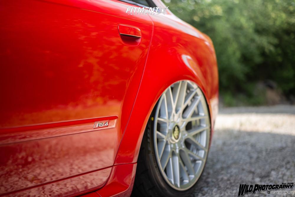 5 2007 Rs4 Audi Base Air Lift Performance Air Suspension Rotiform Rse Silver