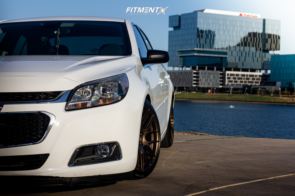 14 2016 Malibu Limited Chevrolet Ls Godspeed Project Coilovers Aodhan Ah X Bronze