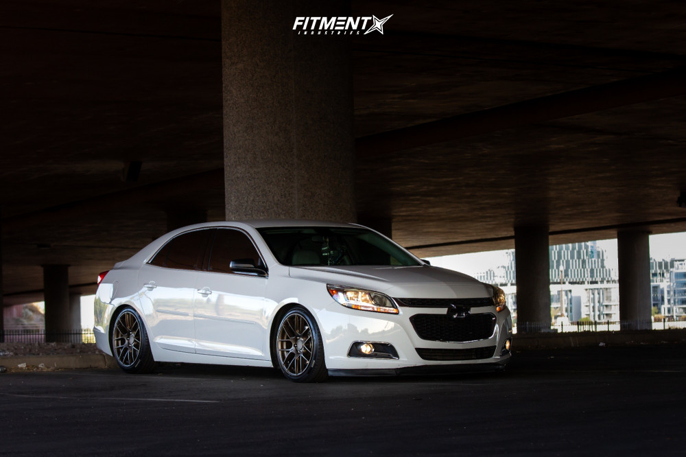 15 2016 Malibu Limited Chevrolet Ls Godspeed Project Coilovers Aodhan Ah X Bronze