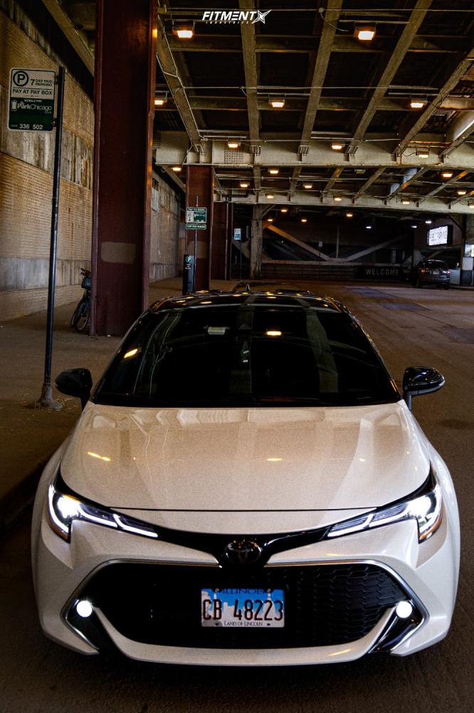 2 2020 Corolla Toyota Xse Rsr Lowering Springs Konig Hypergram Gunmetal