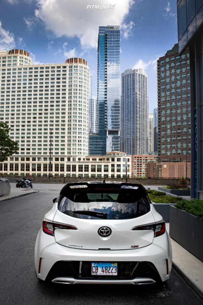 3 2020 Corolla Toyota Xse Rsr Lowering Springs Konig Hypergram Gunmetal