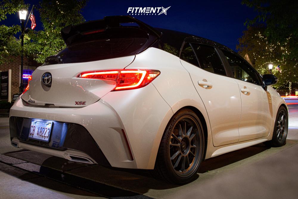 4 2020 Corolla Toyota Xse Rsr Lowering Springs Konig Hypergram Gunmetal