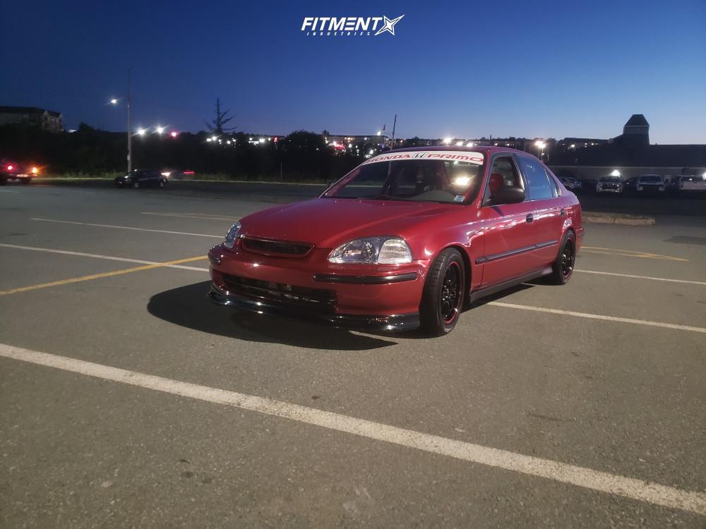 1 1998 Civic Honda Lx Yonaka Motorsports Coilovers Konig Tweaked Black