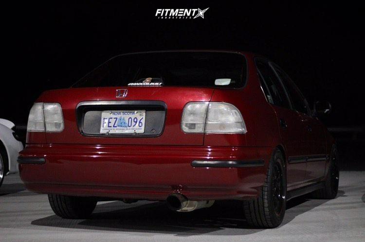 3 1998 Civic Honda Lx Yonaka Motorsports Coilovers Konig Tweaked Black
