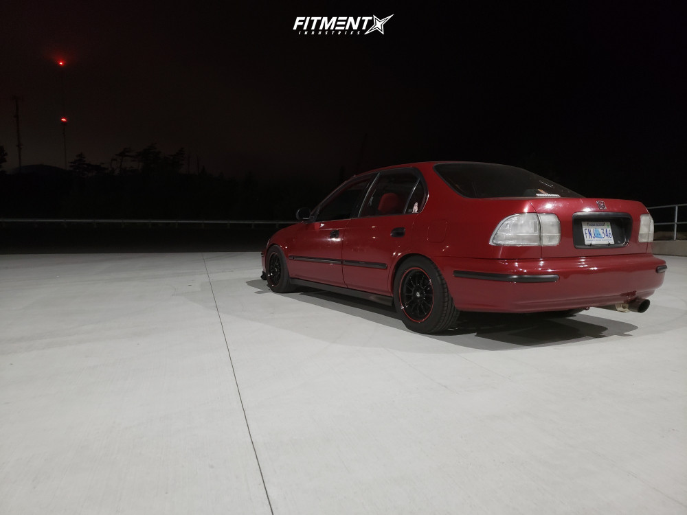 4 1998 Civic Honda Lx Yonaka Motorsports Coilovers Konig Tweaked Black