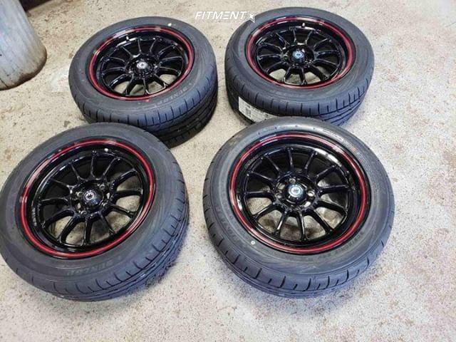 8 1998 Civic Honda Lx Yonaka Motorsports Coilovers Konig Tweaked Black
