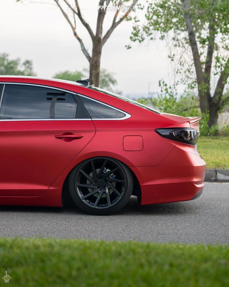 10 2016 Sonata Hyundai Se Godspeed Project Coilovers F1r F29 Hyperblack