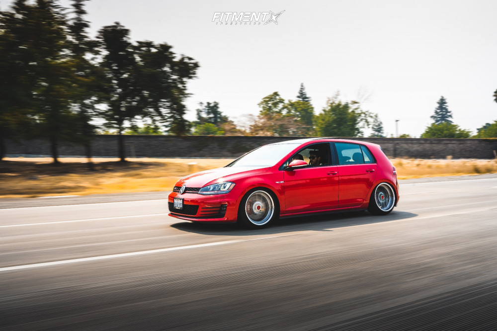 MK7 GTI with Raceland Coilovers