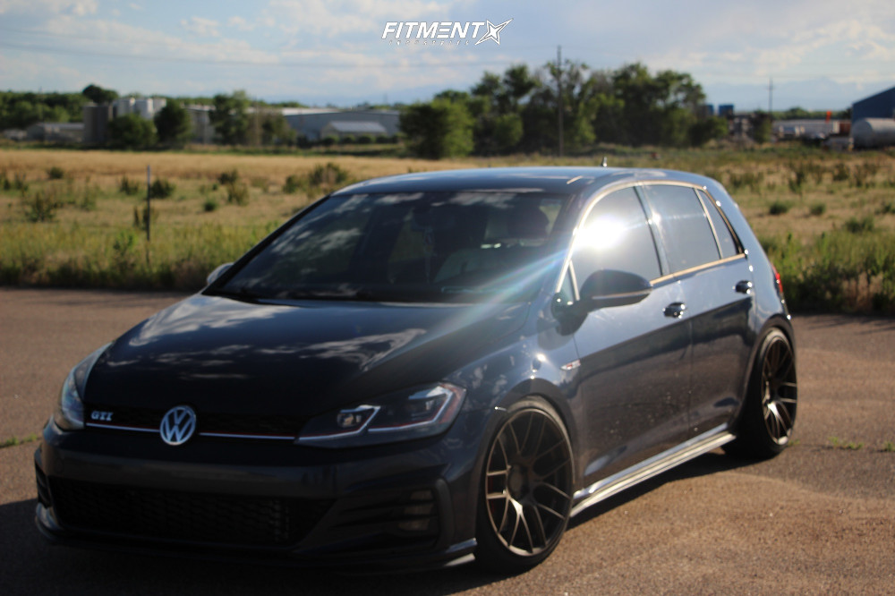 1 2018 Gti Volkswagen Se Solowerks Coilovers Aodhan Ah X Bronze