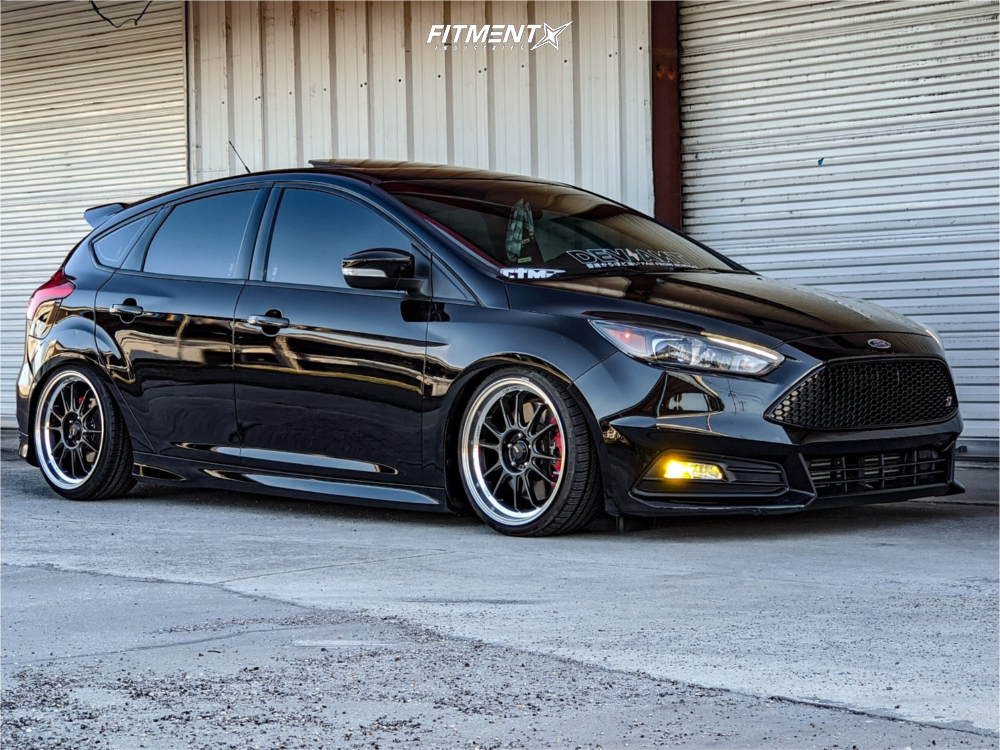 1 2017 Focus Ford St Raceland Coilovers Konig Hypergram Polished