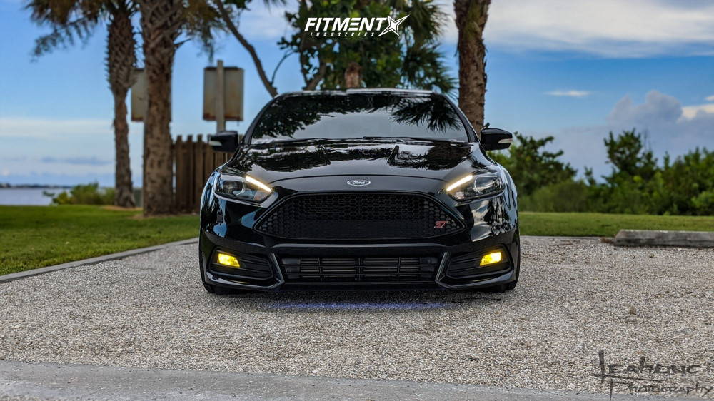 2 2017 Focus Ford St Raceland Coilovers Konig Hypergram Polished