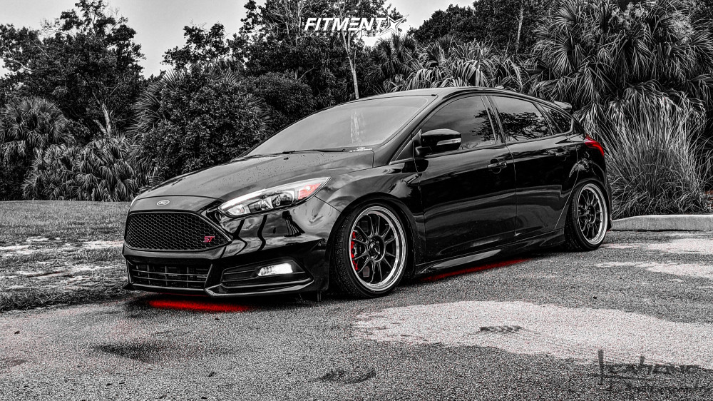 5 2017 Focus Ford St Raceland Coilovers Konig Hypergram Polished