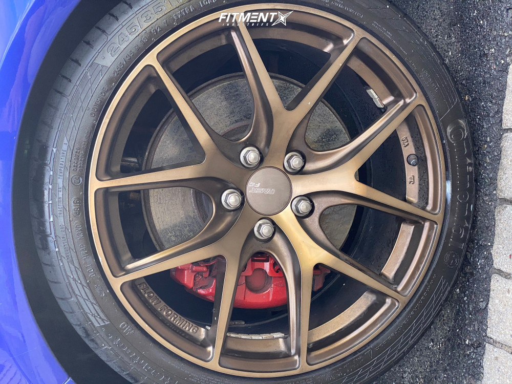 fc04 fast wheels coilovers hsd focus ford bronze 18x8
