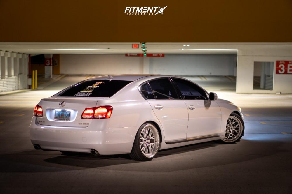 Lowered Lexus GS350
