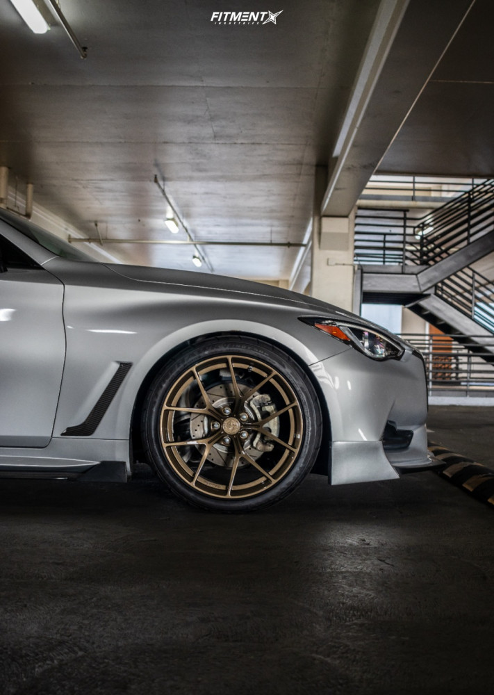 8 2017 Q60 Infiniti Premium Rsr Lowering Springs Precision Forged Mw 1 Bronze