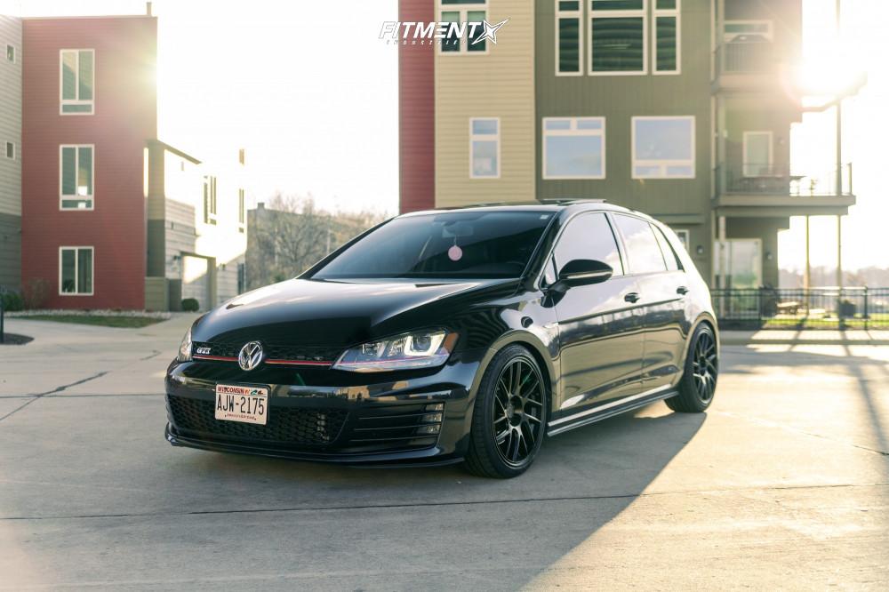1 2016 Gti Volkswagen Se Bc Racing Coilovers Artisa Artformed Elder Black