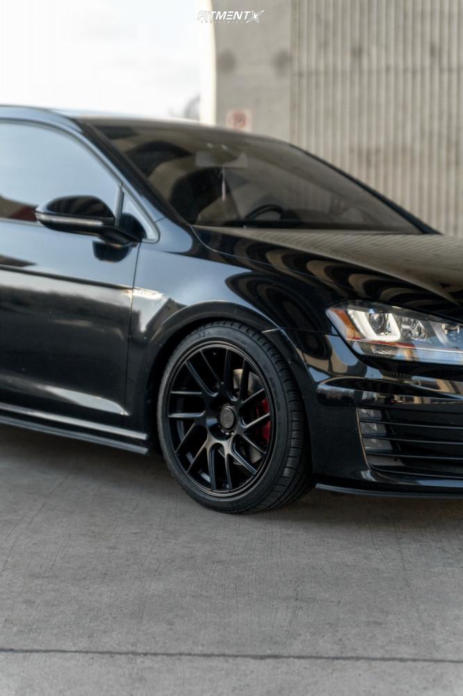 5 2016 Gti Volkswagen Se Bc Racing Coilovers Artisa Artformed Elder Black