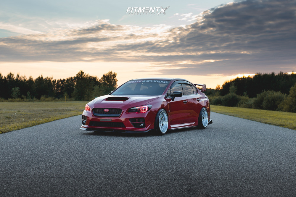 2015 WRX with Raceland Coilovers