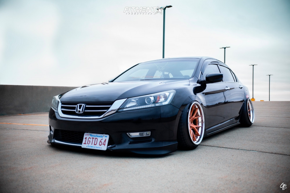 Bagged Honda Accord