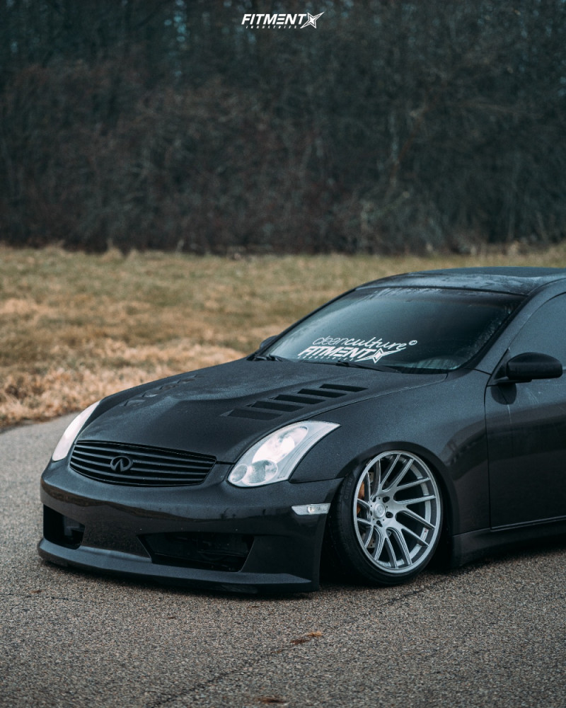 6 2004 G35 Infiniti Rwd 2dr Coupe W Leather 35l 6cyl 6m Air Lift Performance Air Suspension Artisa Elder Silver