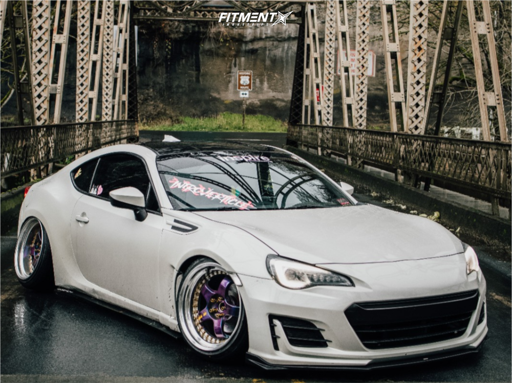 Slammed Scion FRS