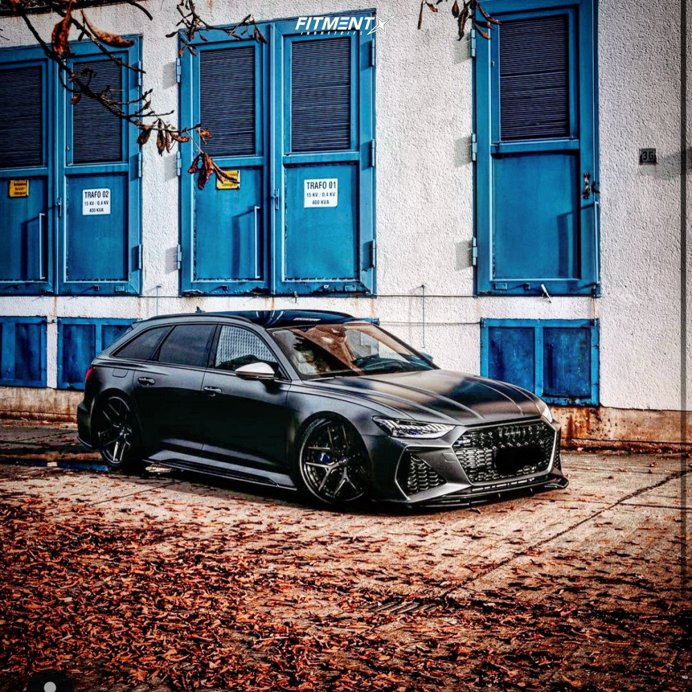 Bagged Audi A6 Wagon