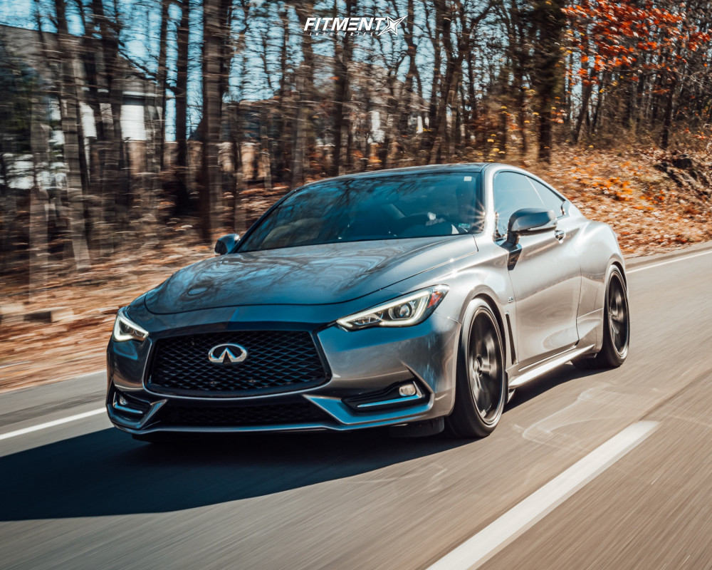 Lowered Infiniti Q60
