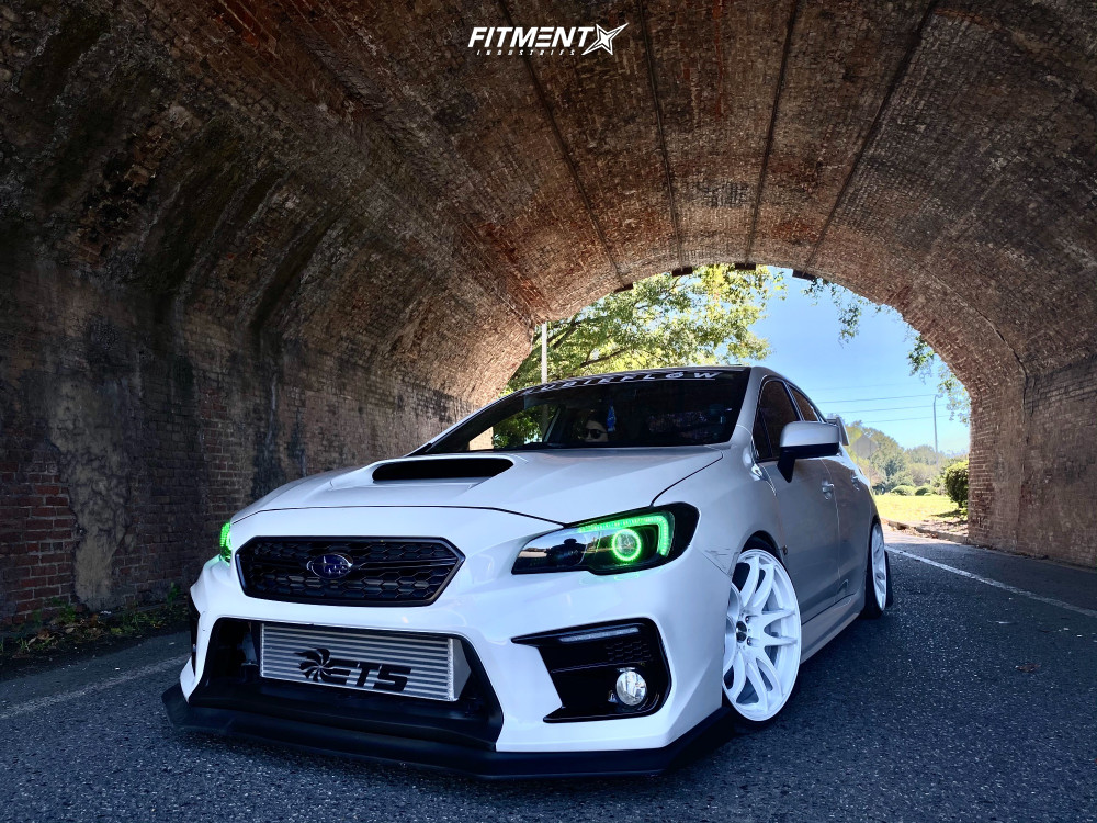 White Out Subaru WRX