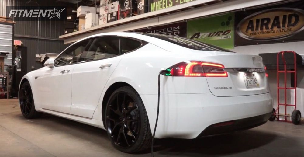 2 2016 S Tesla Stock Fathom Fd Ra Black Nearly Flush