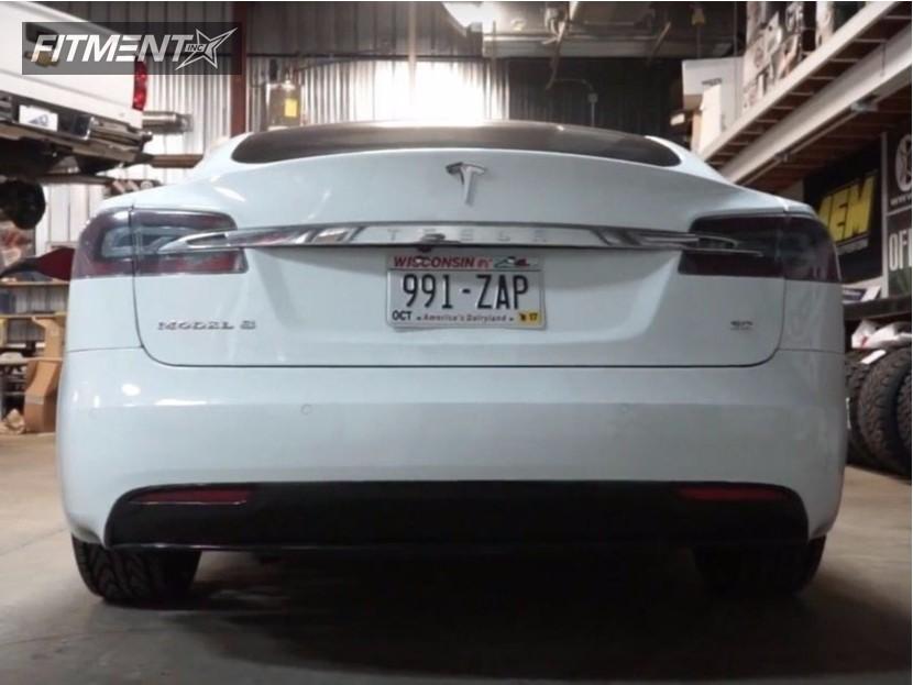 4 2016 S Tesla Stock Fathom Fd Ra Black Nearly Flush