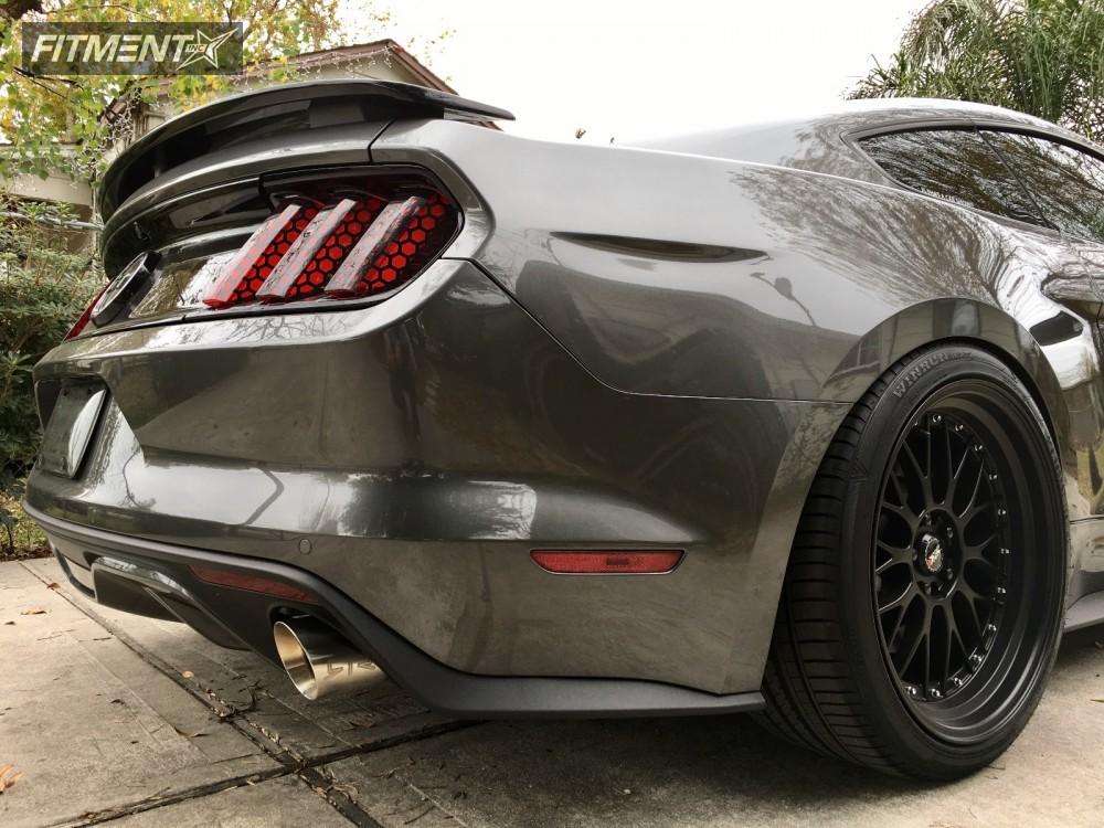 2016 Mustang Wheels >> 4717 4717 Custom Offsets Wheel Shine Kit For Painted Wheels
