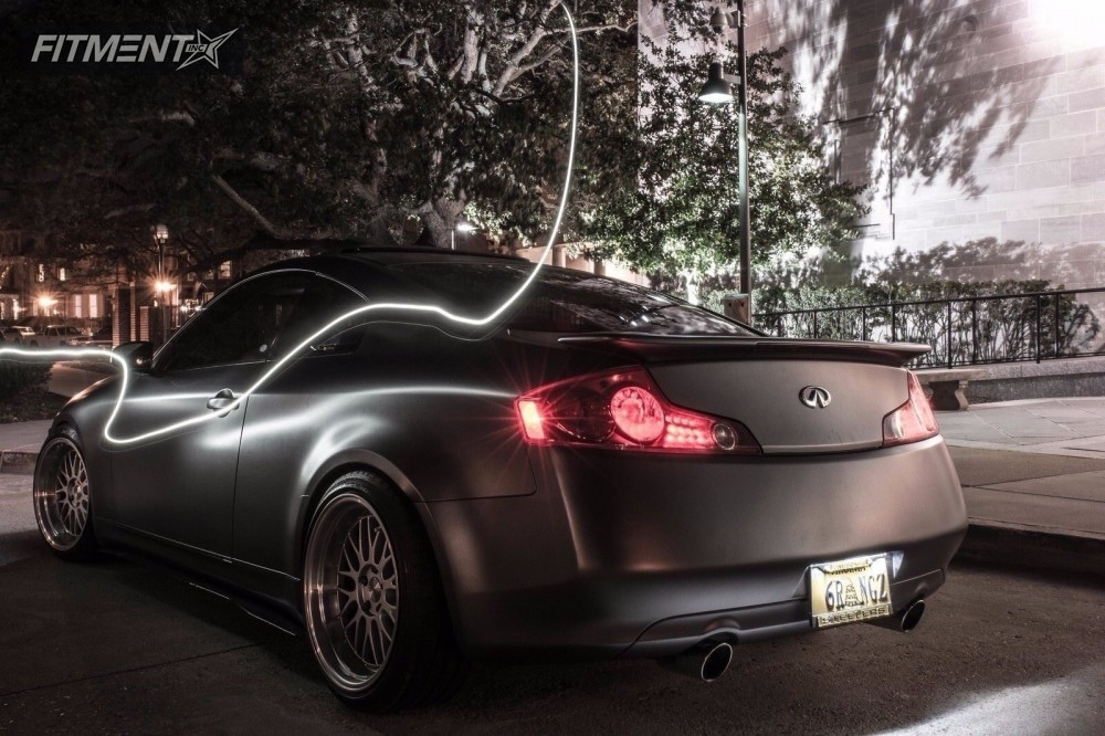 1 2004 G35 Infiniti Coilovers Varrstoen Other Machined Accents Nearly Flush